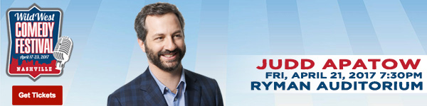 Judd Apatow LIVE at the Wild West Comedy Festival - Ryman Auditorium, April 21, 2017