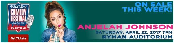 Anjelah Johnson LIVE at the Wild West Comedy Festival - Ryman Auditorium, April 22, 2017