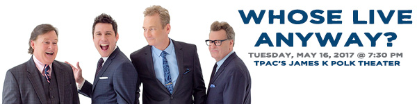 Whose LIVE Anyway LIVE at the Wild West Comedy Festival - TPAC's James K Polk Theater, May 16, 2017